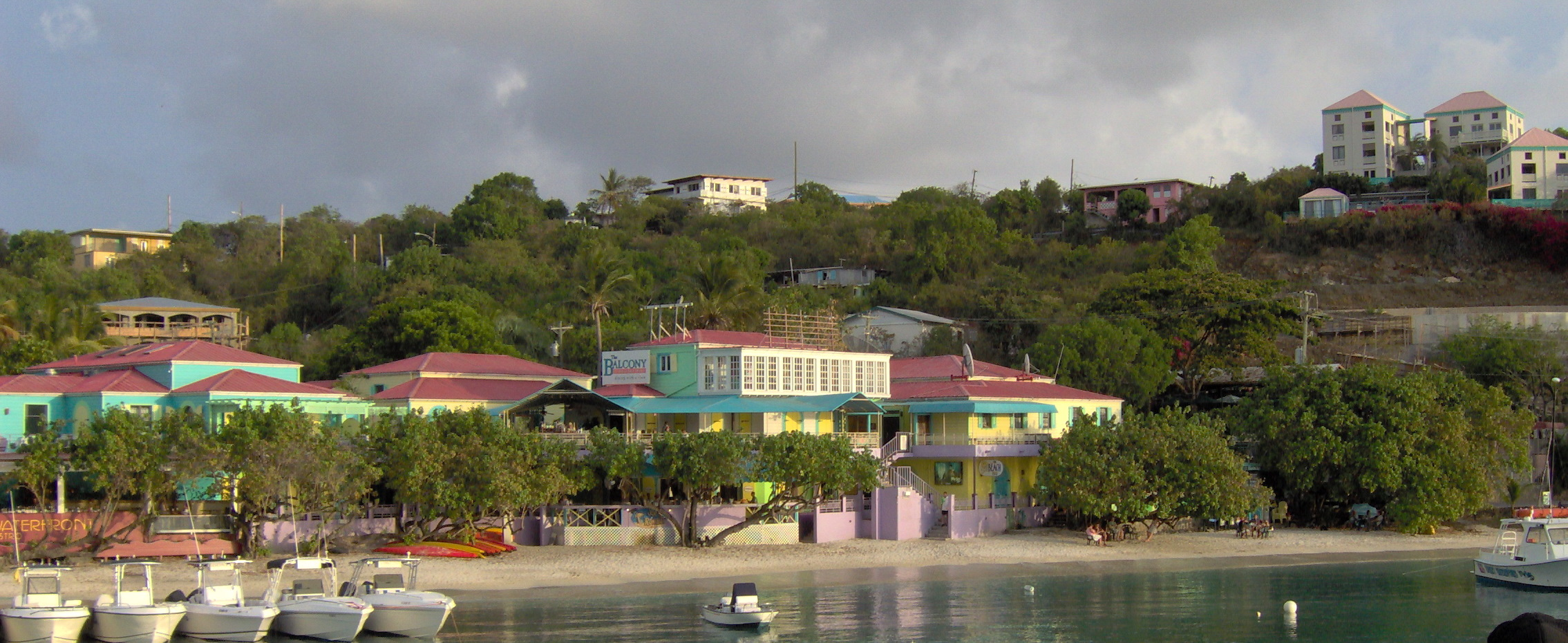 Cruz Bay Restaurants